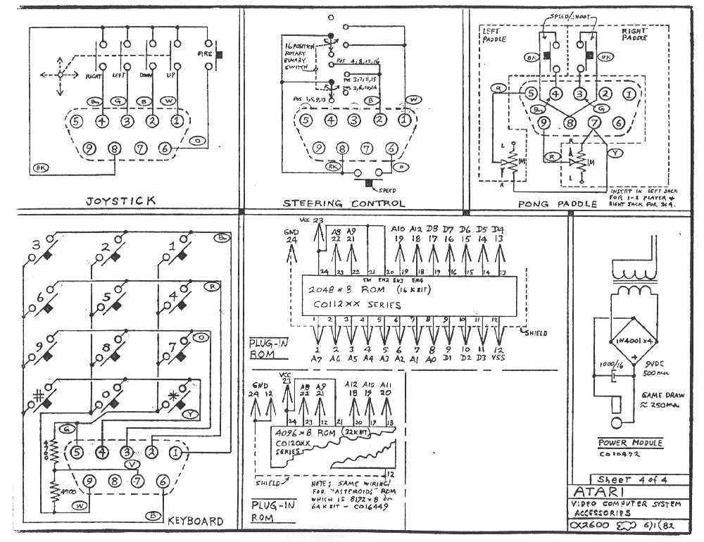 Schematic_Atari2600_Accessories_1000 atari 2600 schematics the atari 2600 jr vesselyn com Atari 2600 System at mifinder.co