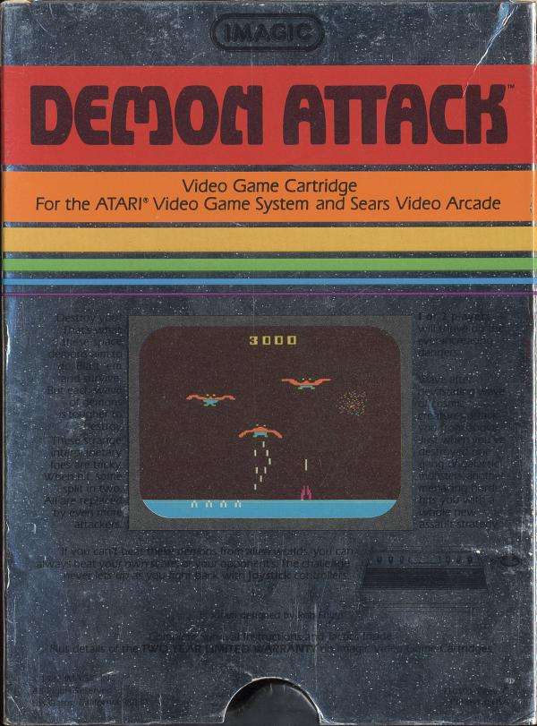 Demon Attack - Box Back