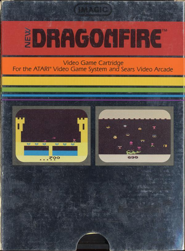 Dragonfire - Box Back