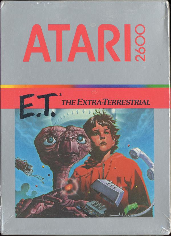 E.T. The Extra-Terrestrial - Box Front