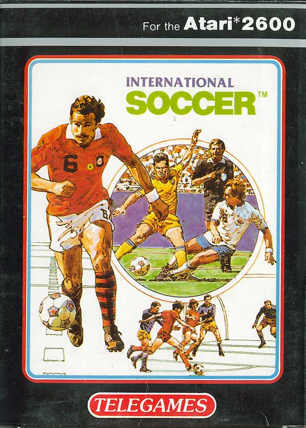 International Soccer - Box Front