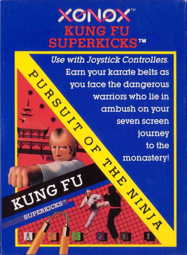 Kung Fu Superkicks - Box Front