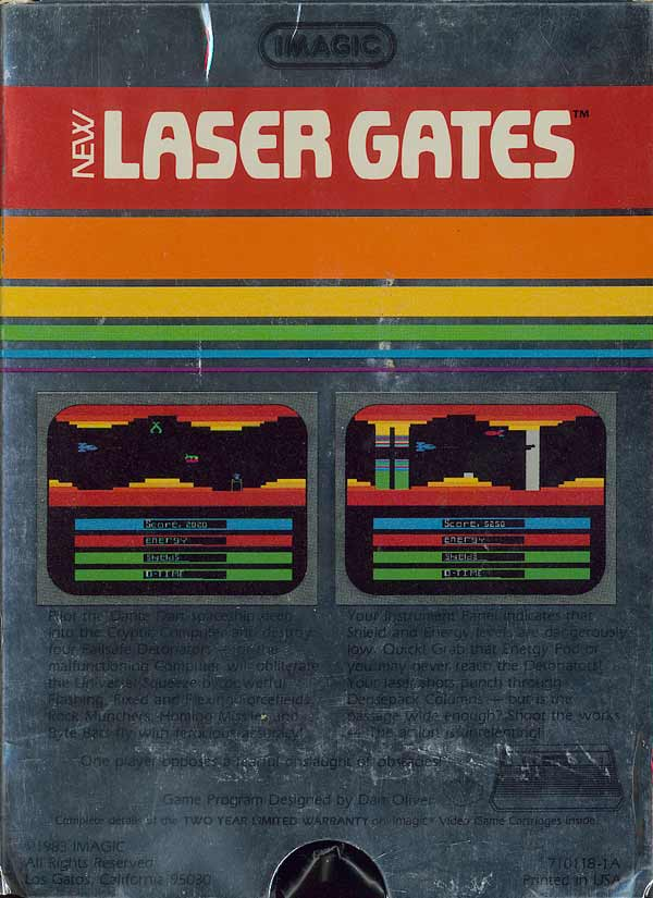 Laser Gates - Box Back