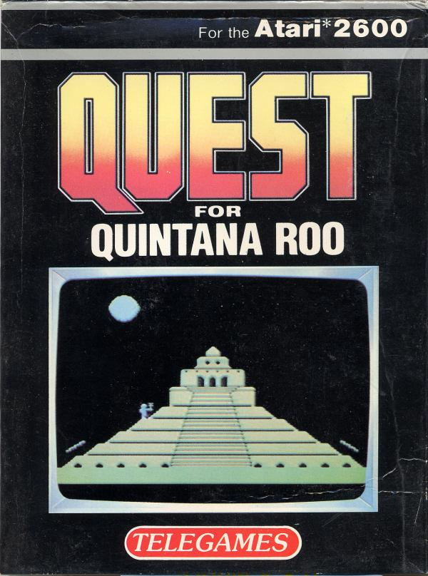Quest for Quintana Roo - Box Front