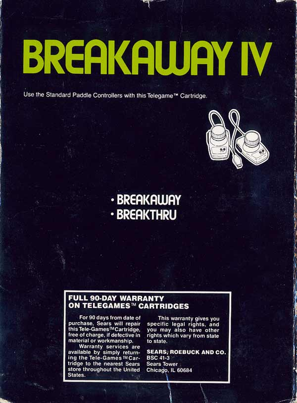 Breakaway IV - Box Back