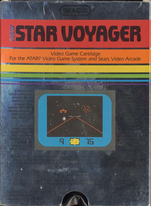 Star Voyager - Box Back