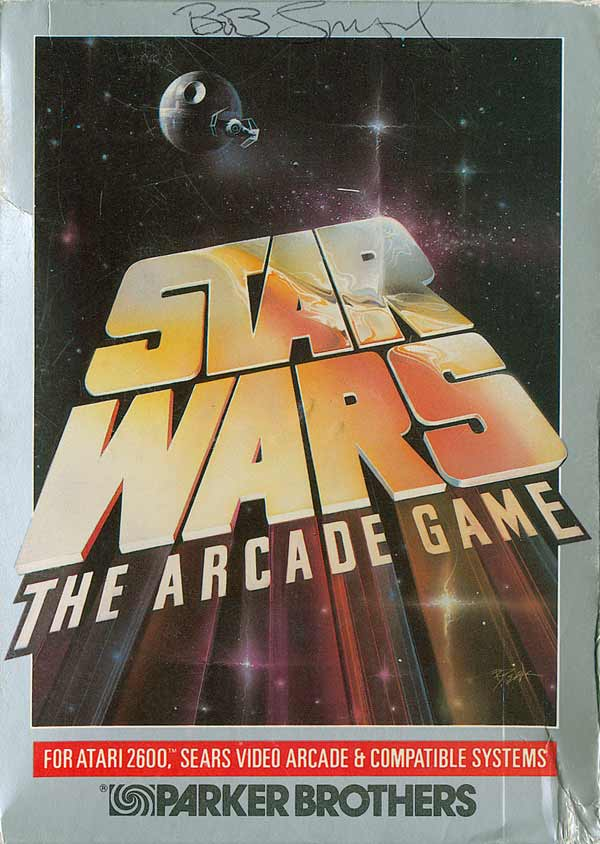 Star Wars: The Arcade Game - Box Front