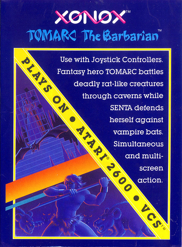 Tomarc the Barbarian - Box Front