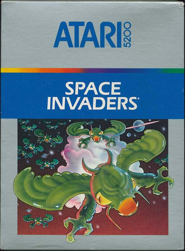 Space Invaders - Box Front