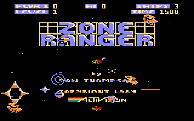 Zone Ranger - Screenshot
