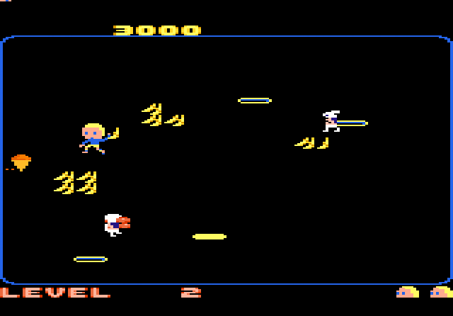Food Fight for the Atari 7800. This single screen action game was one of the