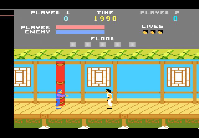Kung Fu Master Atari