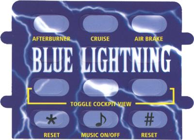 Blue Lightning - Overlay