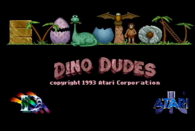 Evolution: Dino Dudes - Screenshot