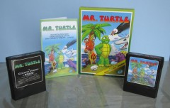 Mr. Turtle Box, Manual & 2 cart labels
