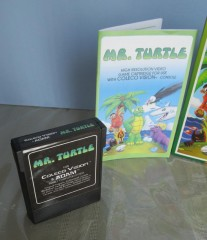 Mr. Turtle Box, Manual & 2 cart labels 002