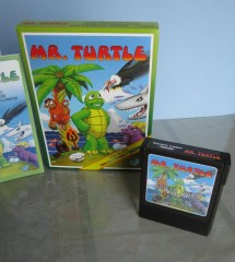 Mr. Turtle Box, Manual & 2 cart labels 003