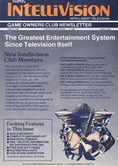 Intellivision Club Newsletter - Issue #1
