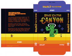 Space Cactus Canyon Box