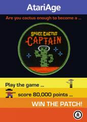 Space Cactus Canyon patch teaser
