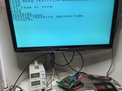 TMS99105 (chip 1) running TMS99110 instruction CIR - failure
