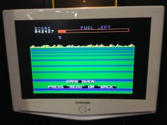 My New High Score on Buck Rogers for the TI-99/4a (April 30, 2017)
