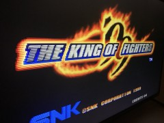 KOF99 Title Screen