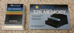 Aquarius 32K Memory (Manual) 1