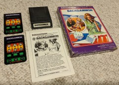 Intellivision Inc Backgammon (Complete 2018)