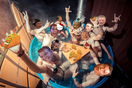 shat Tub party