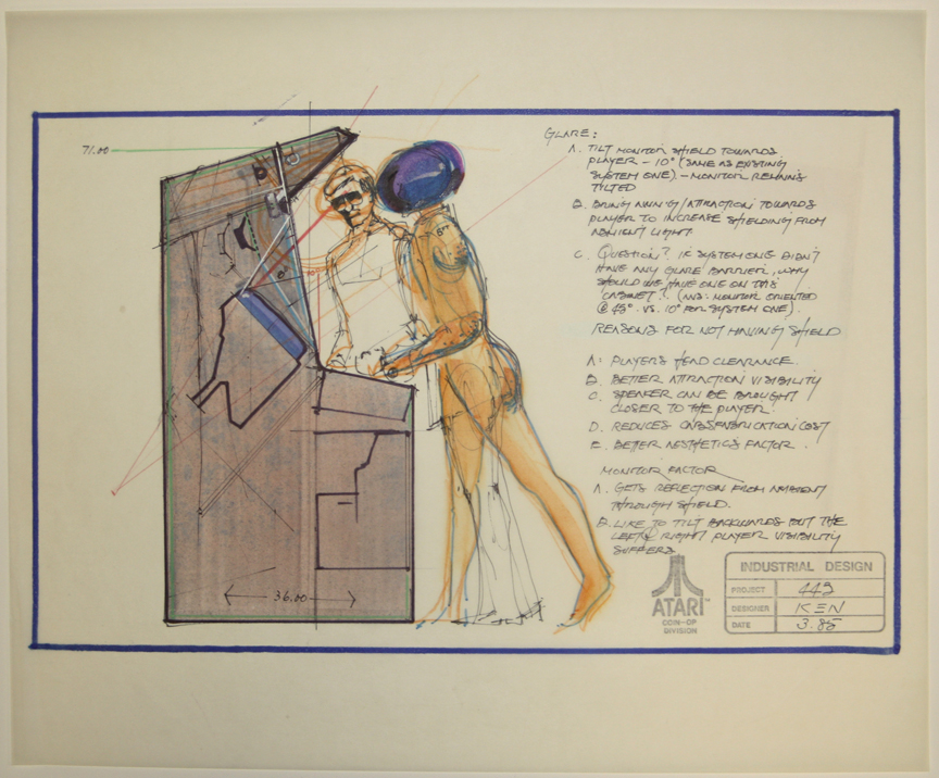 Design Document For Gauntlet By Ken Hata Atari Acquistion Courtesy - Art design document
