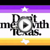 """Don't Mess with Texas"" captured from RetroTINK"