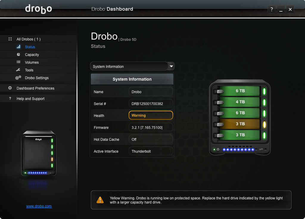 How To Move My Drobo From One Room To Another
