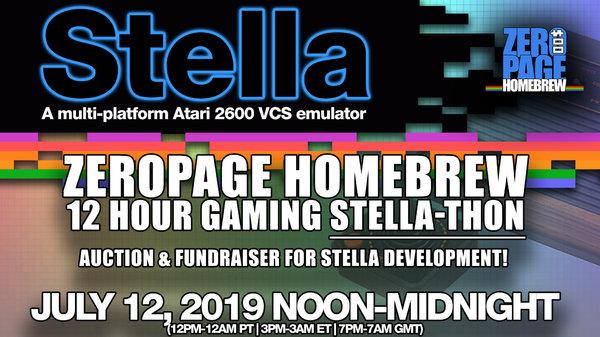 ZeroPage Homebrew Stella-thon
