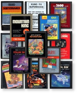 Atari 2600 Cartridge Scans