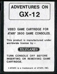 Adventures on GX-12 - Cartridge