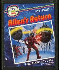 Alien's Return - Cartridge