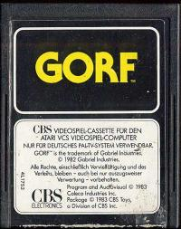 Gorf - Cartridge
