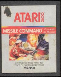 Missile Command (Commando du Missels) - Cartridge