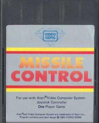 Missile Control - Cartridge