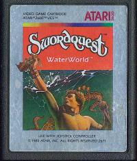 Swordquest: Waterworld - Cartridge