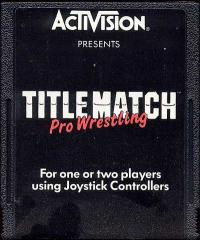 Title Match Pro Wrestling - Cartridge
