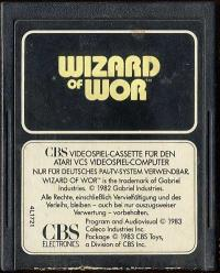 Wizard of Wor - Cartridge