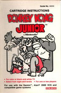 Donkey Kong Junior - Manual