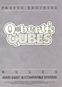 Q*bert's Qubes - Manual