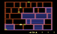 Amidar - Screenshot