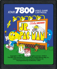 Jr Pac Man Atari 7800