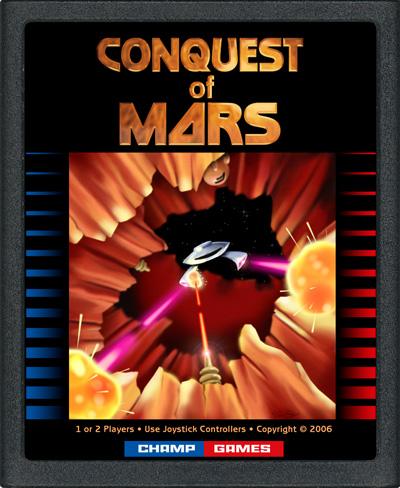 Conquest Of Mars Atari 2600
